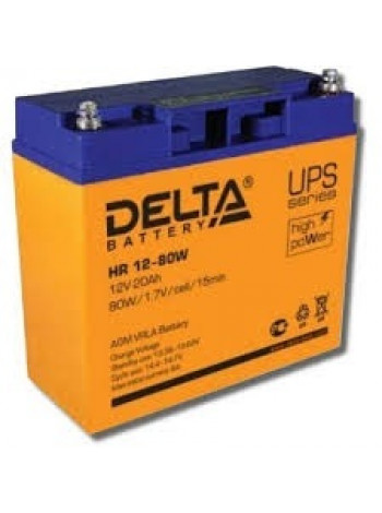 Аккумулятор свинцово-кислотный Delta HR6-9