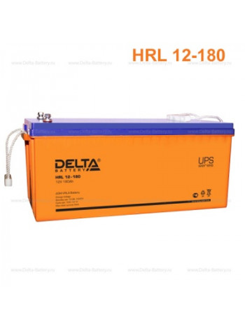 Аккумулятор свинцово-кислотный Delta GEL 12-180