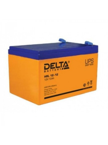 Аккумулятор свинцово-кислотный Delta HRL12-12