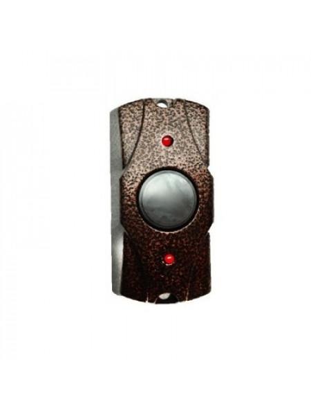 Кнопка выхода металлическая накладная Falcon Eye FE-100 (медь)