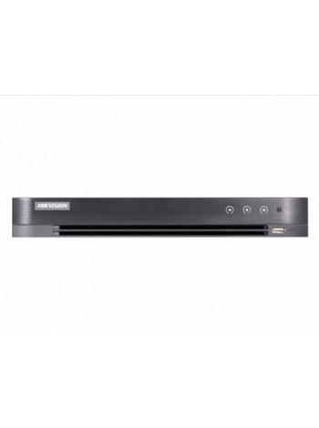 Видеорегистратор гибридный 4 канальный Hikvision DS-7204HQHI-K1/P