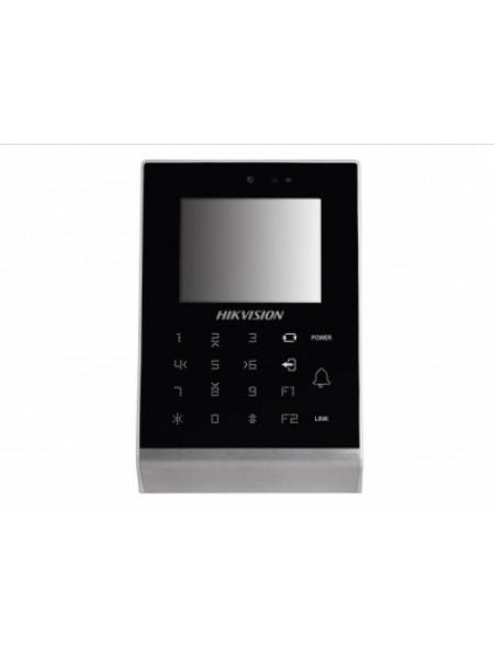 Терминал доступа со встроенными считывателем Mifare карт и 2Мп камерой Hikvision DS-K1T105M-C
