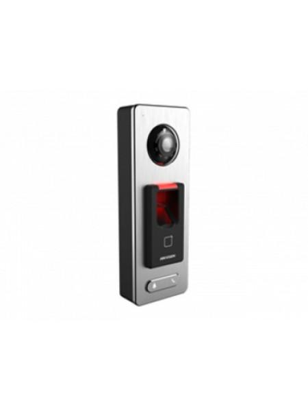 Терминал доступа со встроенными считывателями EM карт и отпечатков пальцев и 2Мп камерой Hikvision DS-K1T501SF