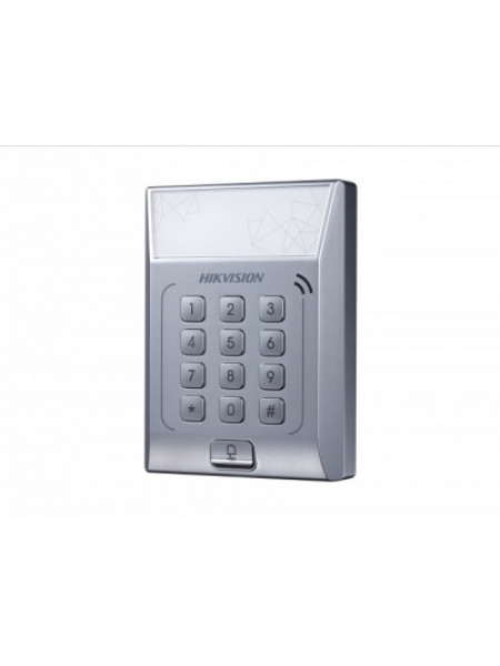 Терминал доступа со встроенным считывателем Mifare карт Hikvision DS-K1T801M