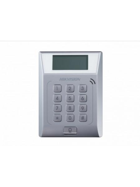 Терминал доступа со встроенным считывателем EM карт Hikvision DS-K1T802E