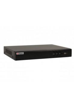 Видеорегистратор гибридный 8 канальный HiWatch DS-H208UP