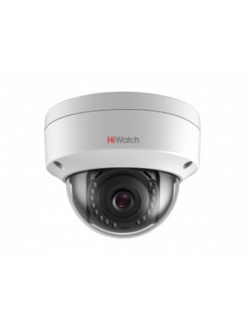 IP-камера видеонаблюдения купольная HiWatch DS-I102 (2.8 mm)