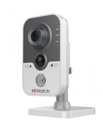 IP-камера видеонаблюдения в компактном корпусе HiWatch DS-I214 (6 mm)