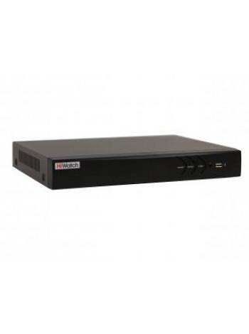 IP-видеорегистратор 4-х канальный HiWatch DS-N304P(B)