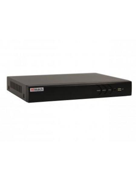 Видеорегистратор 8 потоковый HiWatch DS-N308/2P(B)