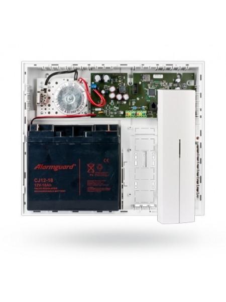 Панель контрольная с встроенным GSM/GPRS/ LAN коммуникатором и радиомодулем Jablotron JA-106KR