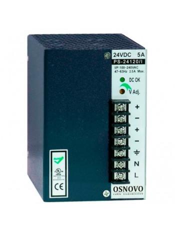 Блок питания промышленный OSNOVO PS-24120/I
