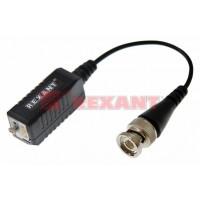 Приемо-передатчик видео BNC по витой паре с усилителем и грозозащитой (блистер) (2шт/уп) REXANT 05-3077
