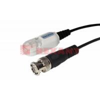 Приемо-передатчик видео (BNC) по витой паре с грозозащитой Блистер Влагозащита (2шт/упак) REXANT (05-3080)