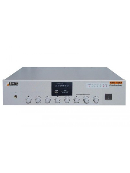 Усилитель мощности трансляционный музыкальный ROXTON MA-120