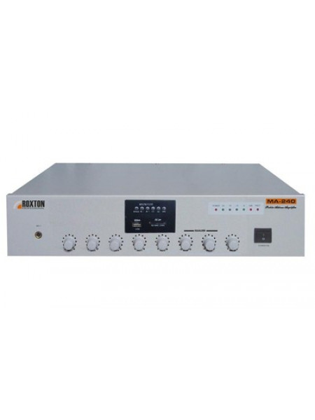 Усилитель мощности трансляционный музыкальный ROXTON MA-240
