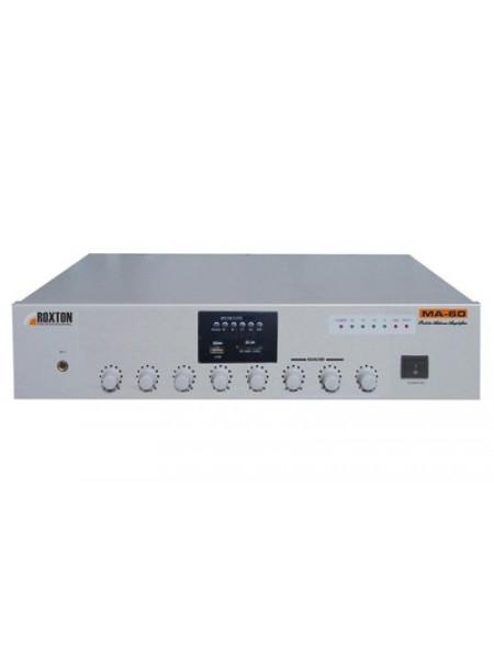 Усилитель мощности трансляционный музыкальный ROXTON MA-60