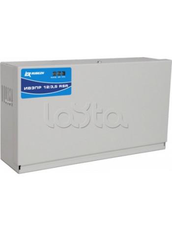 Блок электропитания  Рубеж ИВЭПР 12/3,5 RSR 2х7 -Р БР прот. R3