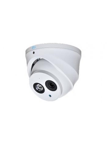 Камера видеонаблюдения купольная RVi-HDC321VBA (2.8)