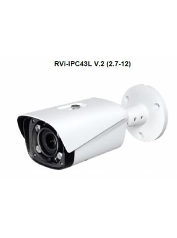 IP-камера видеонаблюдения в стандартном исполнении RVi-IPC43L V.2 (2.7-12 мм)