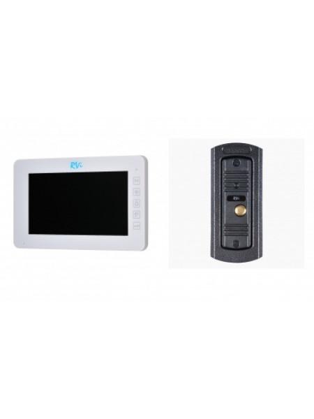 Комплект видеодомофона RVi-VD7-21M (белый) + RVi-305 LUX
