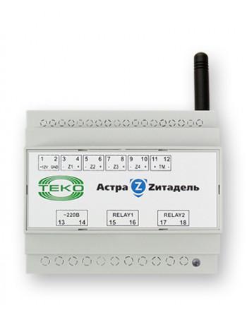 Блок реле радиоканальный Теко Астра-Z-8245