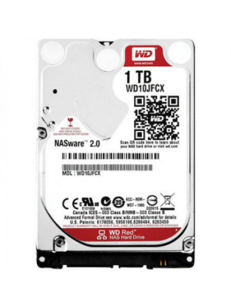 "Жесткий диск Western Digital Red HDD 1 Tb SATA-III 2.5"" WD10JFCX"