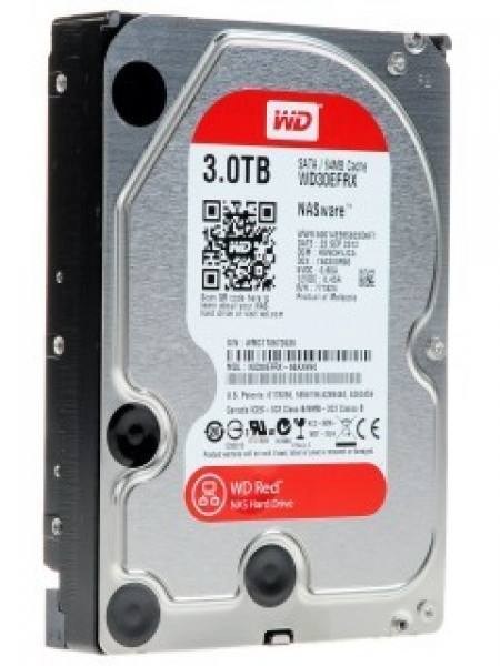 "Жесткий диск Western Digital Red HDD 3 Tb SATA-III 3.5"" WD30EFRX"