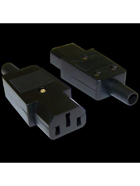 Вилка питания<br /> LANMASTER LAN-IEC-320-C13