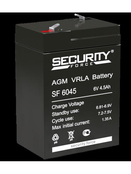 Аккумуляторная батарея<br /> Аккумулятор 6В 4.5 А∙ч (SF 6045)