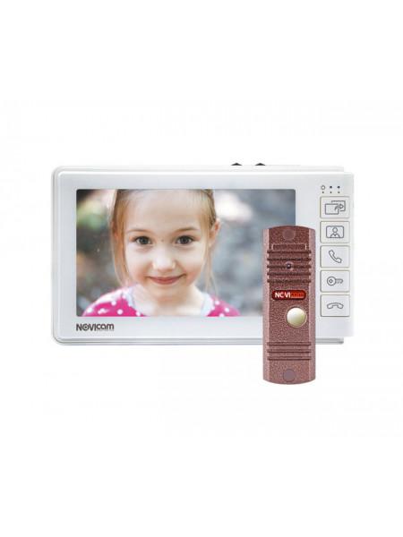 Комплект видеодомофона<br /> SMILE 7 KIT
