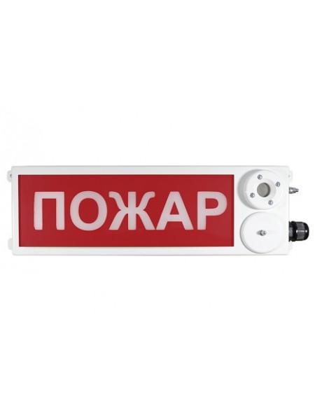 Оповещатель охранно-пожарный (табло)<br /> ТСЗВ-Exd-Н-Прометей 220В РИП