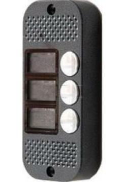 Вызывная видеопанель<br /> JSB-V083 PAL (серебро) OV7960