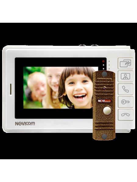 Комплект видеодомофона<br /> SMILE 4 KIT
