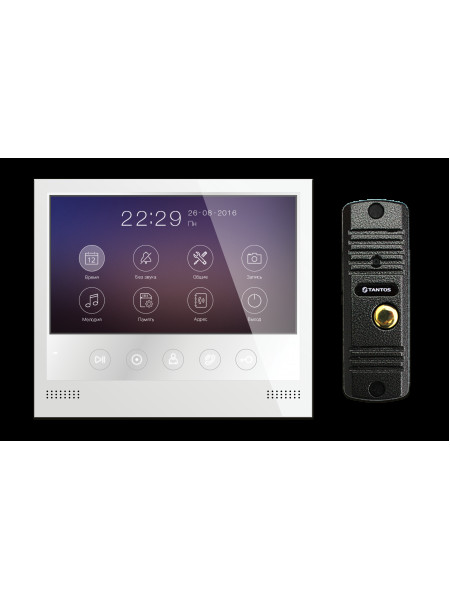 Комплект видеодомофона<br /> Selina HD и Corban HD (комплект бюджетного домофона 7