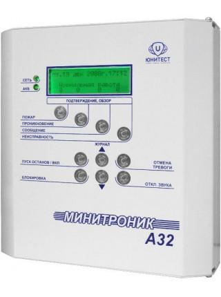 Прибор приемно-контрольный<br /> МИНИТРОНИК A32.Ех