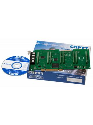 Комплекс автоматической записи аудиоинформации<br /> Спрут-7/А-9 PCI
