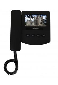 Монитор видеодомофона<br /> AT-VD 433C EXEL (черный) (= QM-433C EXEL)