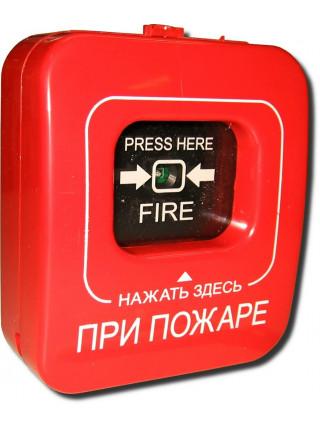 Извещатель пожарный ручной адресный<br /> A16-ИПР