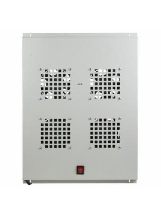 Модуль вентиляторный<br /> Модуль вентиляторный потолочный с 4-мя вентиляторами, без термостата, для шкафов серии Standart с глубиной 800мм (04-2601)