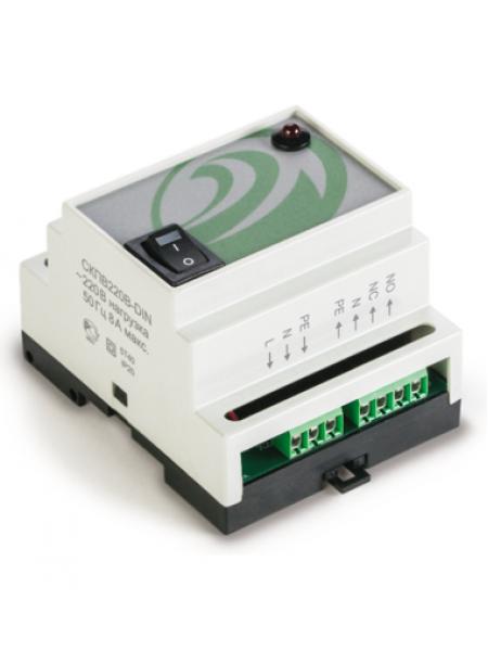 Управляющее устройство для систем контроля протечек воды<br /> СКПВ220В-DIN Контроллер