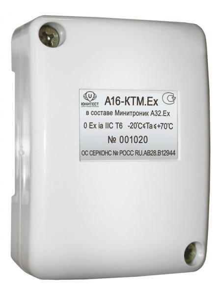 Контроллер считывателя адресный<br /> А16-КТМ.Ex