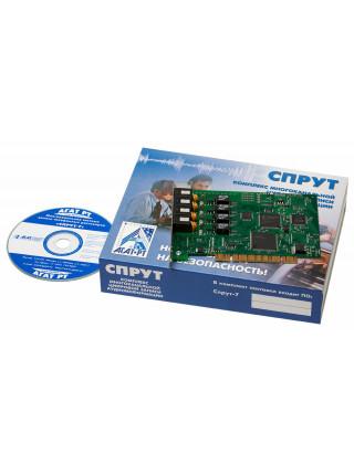 Комплекс автоматической записи аудиоинформации<br /> Спрут-7/А-4 PCI