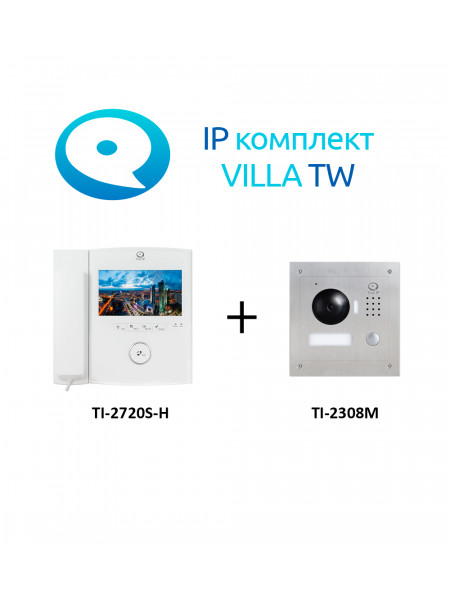 Комплект видеодомофона<br /> VILLA TW