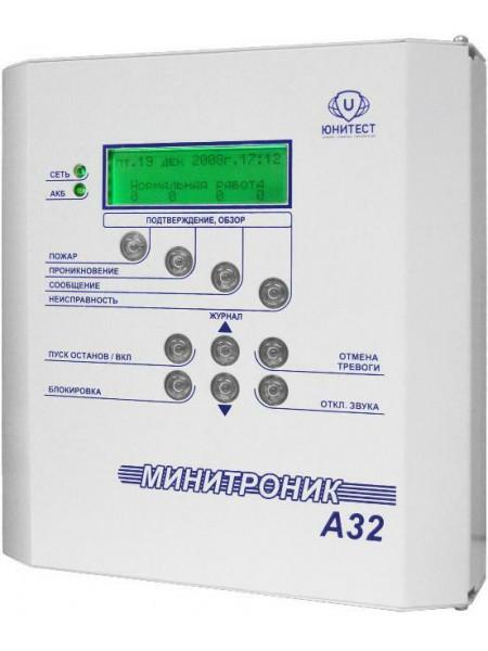 Прибор приемно-контрольный<br /> МИНИТРОНИК A32