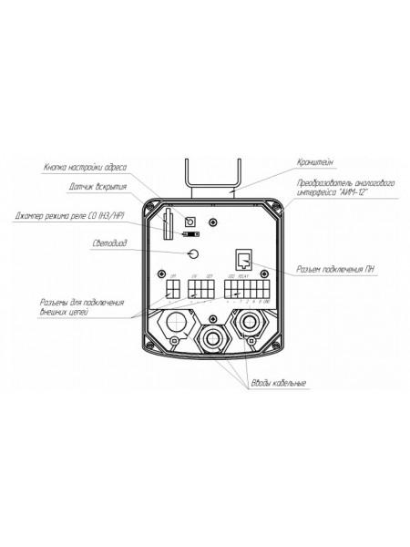 Преобразователь аналогового интерфейса<br /> АИМ-12