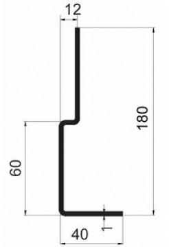 Наличник для двери<br /> ННЦ-180-210(250)