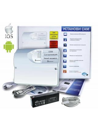 Комплект охранной сигнализации<br /> GSM-сигнализация
