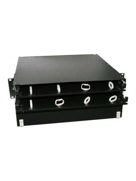 Патч-панель<br /> FO-19BX-2U-D1-6xSLT-W120H32-EMP