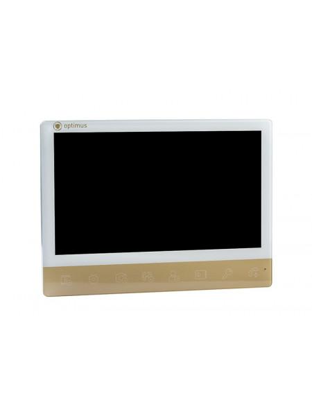 Монитор видеодомофона<br /> VMH-10 (white+gold)